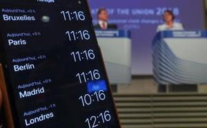 Los países de la UE deberán decidir antes de mayo si eligen horario de verano o invierno