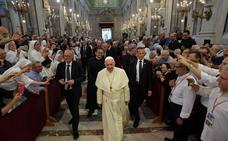«No se puede creer en Dios y ser mafioso», dice el Papa en Sicilia