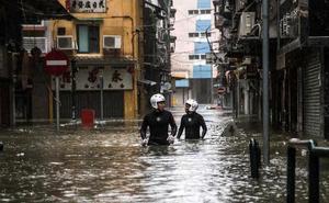'Mangkhut' deja un reguero de devastación