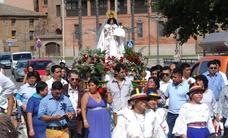 Procesión de la Virgen del Cisne en Calahorra
