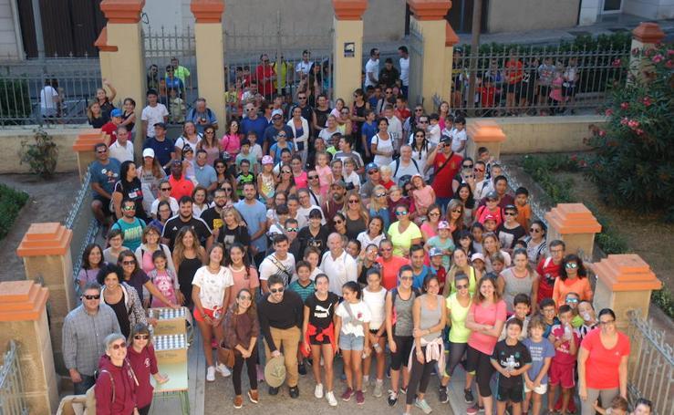 Marcha sostenible en Calahorra