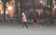 La tormenta ahoga San Mateo
