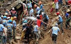 Ya son 65 los muertos tras el paso del supertifón Mangkhut por Filipinas