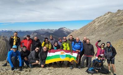 El club Sampol viajó el fin de semana a Pirineos