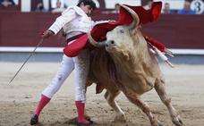 El toro de Domecq domina en la feria
