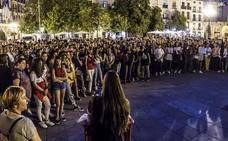 Cientos de personas se concentran en repulsa a las agresiones machistas