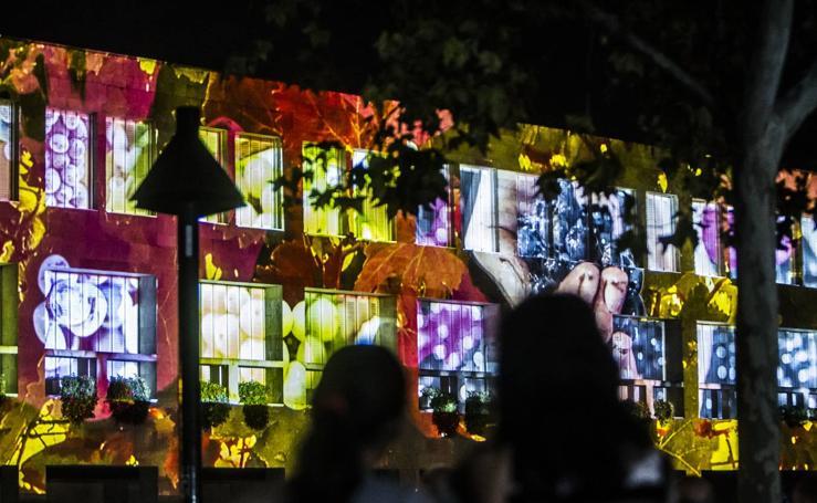 Video Mapping en el Ayuntamiento de Logroño