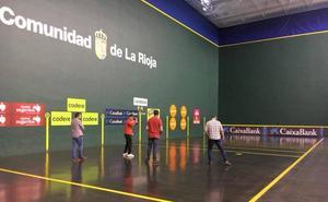 El Adarraga, seco: habrá pelota esta tarde