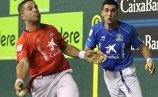 Partidos de pelota del martes en el Adarraga
