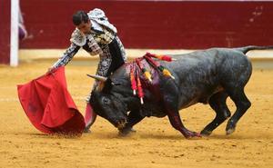 Escribano, oreja con una imponente y variada corrida de Victorino en Logroño