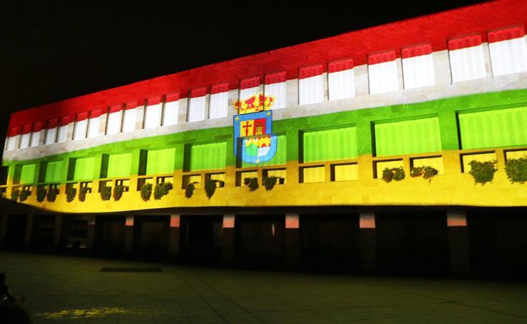 Vídeo-mapping en la fachada del Ayuntamiento
