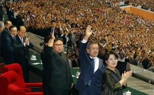 Kim promete rebajar su amenaza nuclear