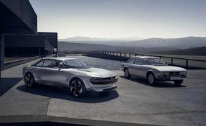 Peugeot e-Legend Concept, el regreso del 504 Coupé