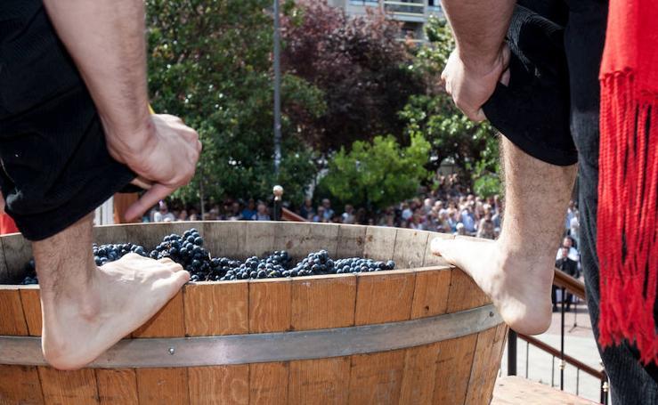 Pisado de la uva (II)