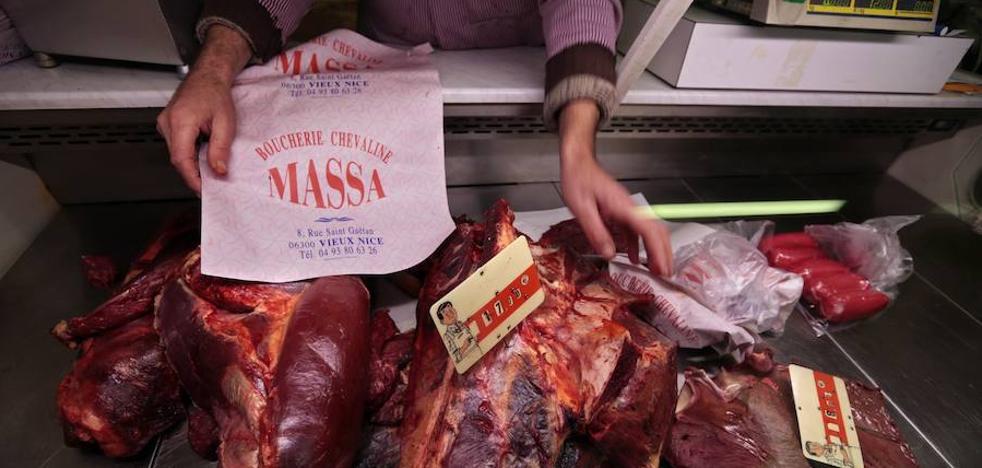 Las carnicerías francesas, en el punto de mira de las protestas veganas
