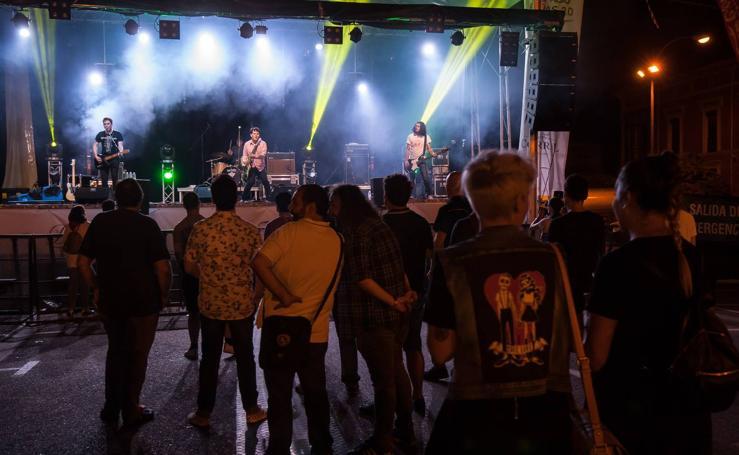 Triple concierto en el Espacio Peñas