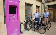 «En Haro las bicicletas no son para el verano ni para el invierno», critica Olarte