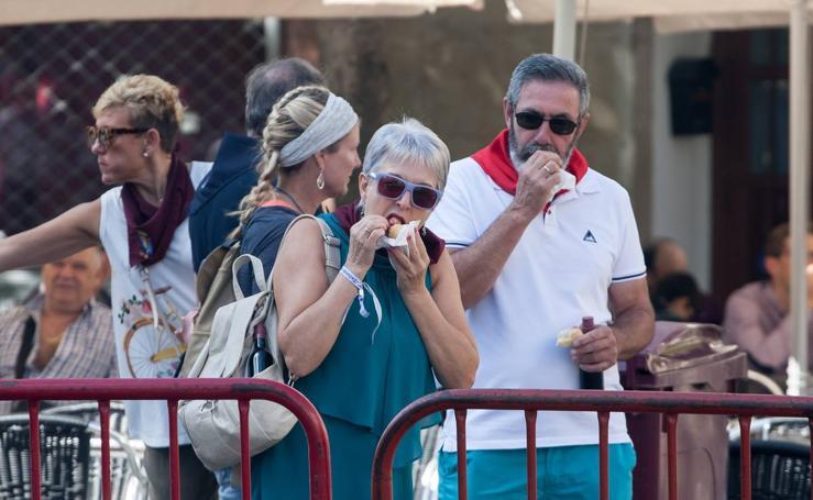 Los logroñeses siguen disfrutando de las degustaciones por San Mateo