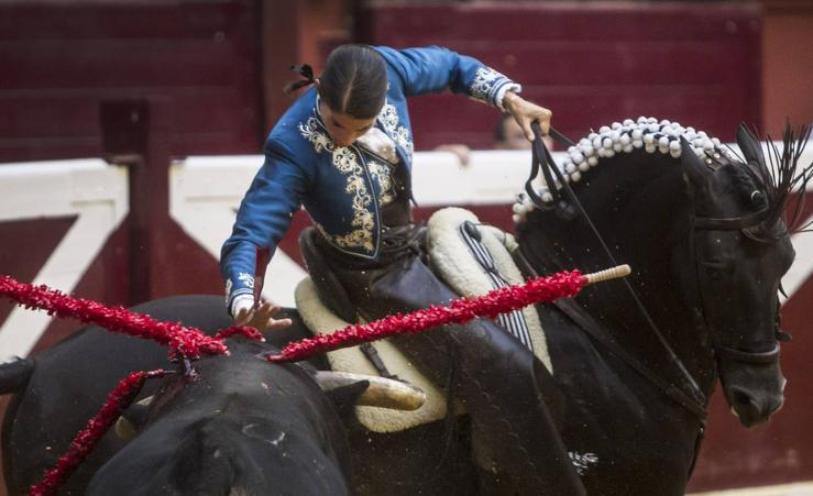 Pablo Hermoso marca la diferencia en el triunfo compartido con Vicens
