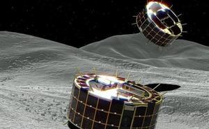 Los microrrobots exploradores enviados por Japón comienzan la inspección del asteroide