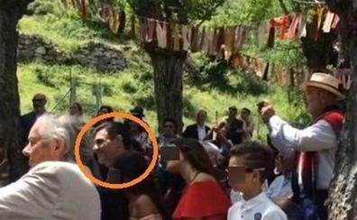 Sánchez viajó a la boda de su cuñado en La Rioja en helicóptero