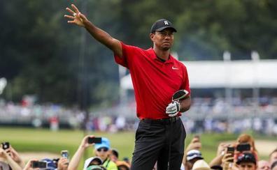 Tiger Woods gana el Tour Championship y logra su primer título en cinco años