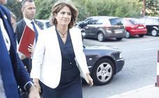 La ministra Delgado reconoce ahora que se vio tres veces con Villarejo