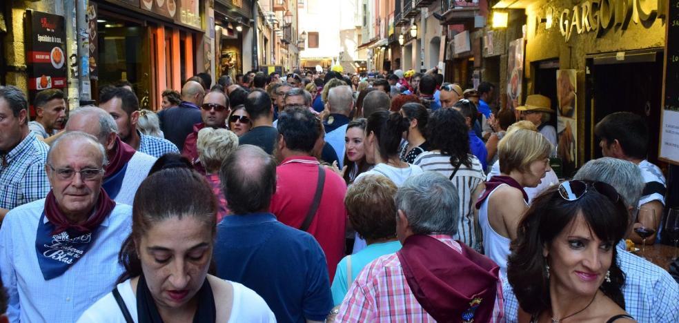 Vecinos, feriantes y parte de la hostelería apoyan los sanmateos del 20 al 26 de septiembre