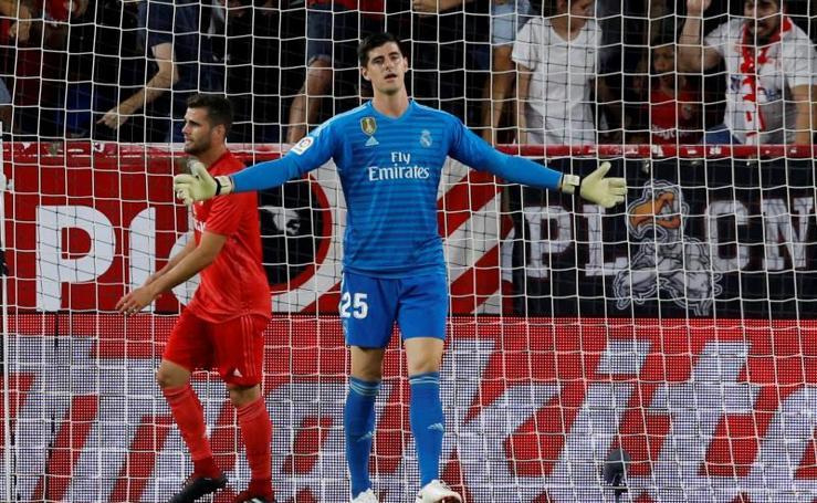 El Sevilla-Real Madrid, en imágenes
