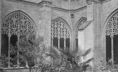 Foto antigua de Santa María la Real