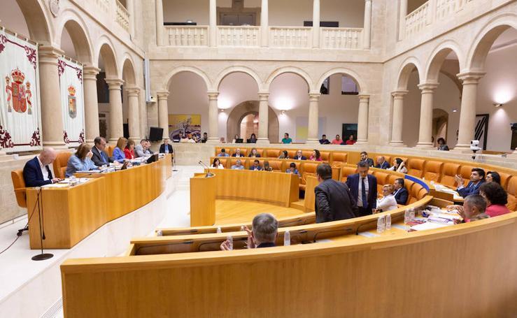 Pleno del Parlamento riojano