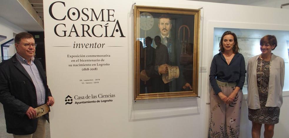 Homenaje a Cosme García