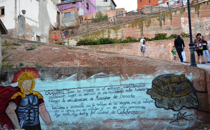 Arte joven en el casco antiguo de Calahorra
