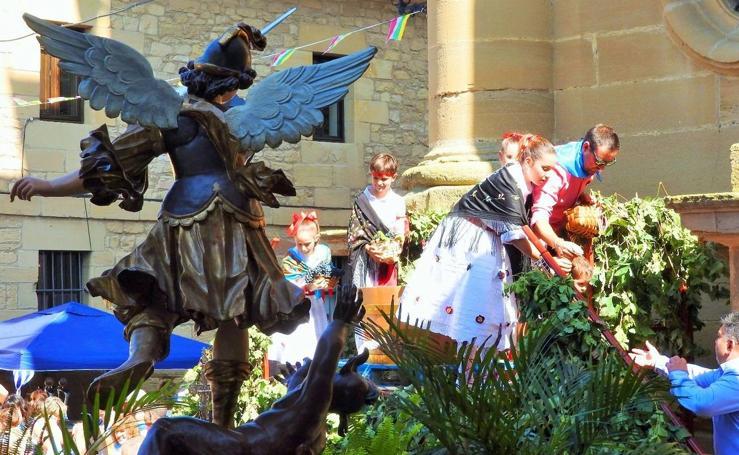 Fiestas de San Miguel en Cuzcurrita
