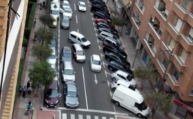 El que no aparca en Logroño es porque no quiere