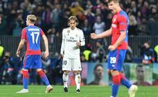 El Madrid maldice otra visita a Moscú