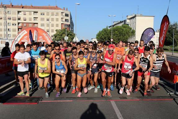 Afecciones en el tráfico el domingo por la maratón 'Ciudad de Logroño'