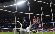 El Atlético de Madrid exorciza su trauma europeo en el Metropolitano