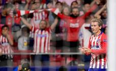 El Atlético marca al ritmo de Antoine