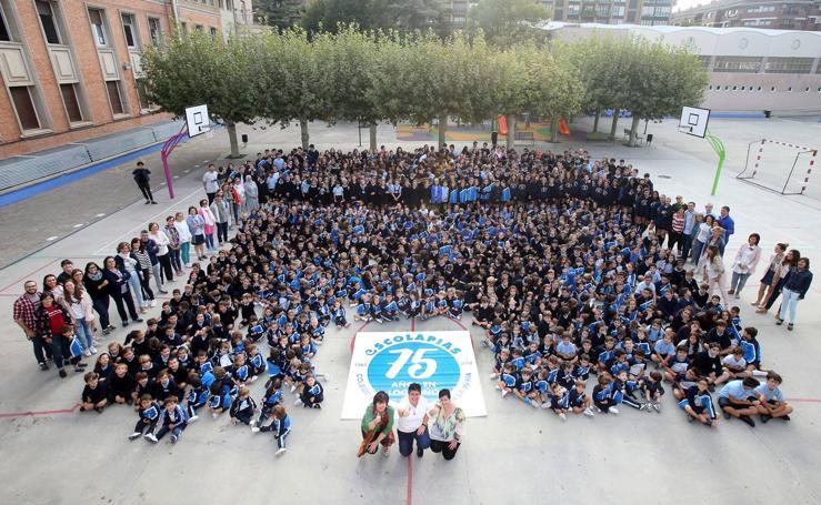 Escolapias cumple 75 años en Logroño