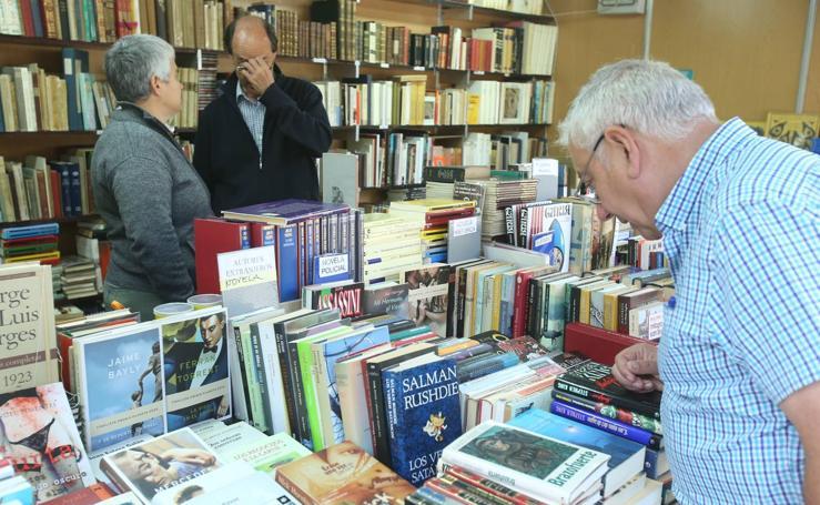 Se abre la 38 Feria del Libro Antiguo y de Ocasión de Logroño