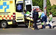 Atropellada una mujer por un motociclista en Avenida de Burgos