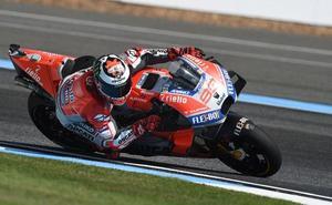 La caída de Lorenzo pone en duda su participación en el GP de Tailandia