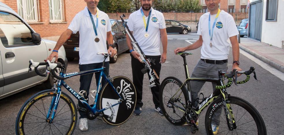 Oro, plata y bronce para tres logroñeses en los Juegos Europeos de Policías y Bomberos