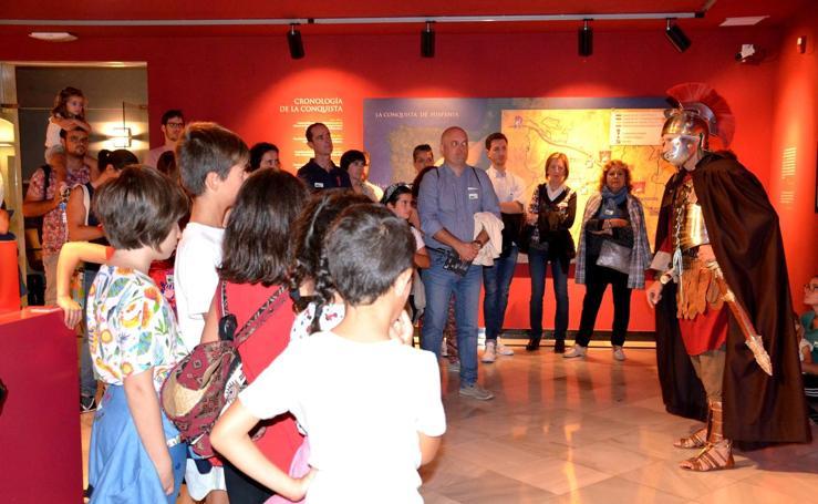 Rutas teatralizadas en el Museo de la Romanización de Calahorra