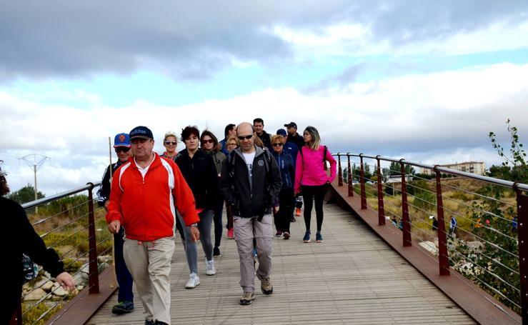 Paseo de Otoño de la AECC en Calahorra
