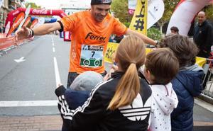 Miguel Ferrer volvió a la competición con sufrimiento