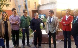 Las obras de los Juzgados de Calahorra avanzan «a buen ritmo»