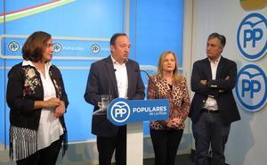 Sanz: «Los riojanos tenemos derecho a las mismas oportunidades que el resto»