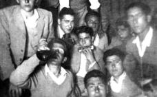 De fiesta en una bodega de Albelda en 1953